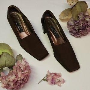 Stuart Weitzman Classy Brown Heels